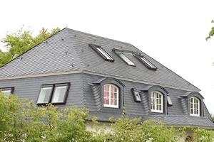 Dacheindeckung altdeutsche Schieferdeckung